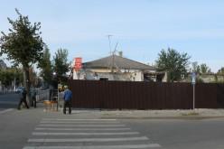 В центре Павлограда строится новый магазин
