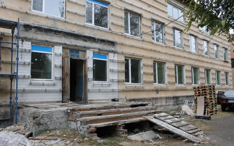 Многострадальный терцентр, стоимостью десятки миллионов гривен, так и не отремонтирован