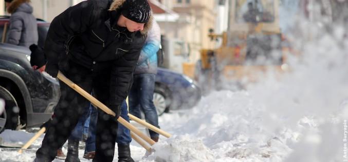 Предпринимателям, которые не расчищают снег, грозит штраф