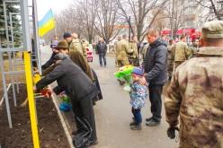 Павлоград отметил День Достоинства и Свободы (ФОТО)