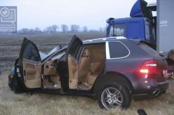 Кандидат в мэры Павлограда Евгений Терехов разбил Porsche за 3 млн грн. ?Подробности (ОБНОВЛЯЕТСЯ)