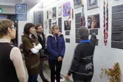 Павлоградцы посетили выставку «Код Параджанова»