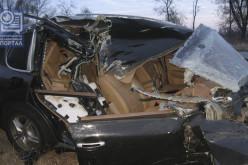 Машина, которую разбил Терехов, принадлежит семье экс-прокурора