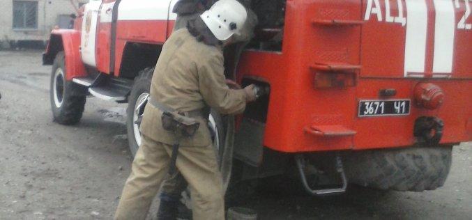 Павлоградские спасатели гасили условный пожар в многоэтажке
