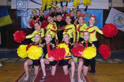 Павлоградцы завоевали призовые места на Кубке Украины по черлиденгу