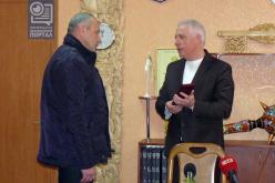 Павлоградец награждён медалью «Защитнику Отечества»