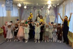 Аниматоры-волонтёры побывали в особенном детском садике