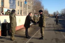 День ВСУ отметили в воинской части Павлограда