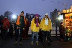 В Павлограде зажглась главная ёлка и открылся каток