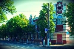 В Павлограде ремонтируют фасад исторического здания (ФОТО)