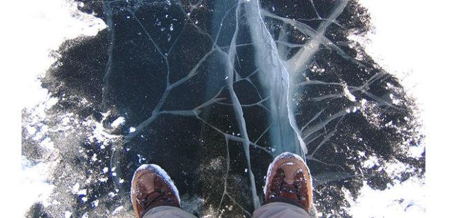В Павлограде два школьника провалились под лед и остались живы только благодаря коммунальщикам