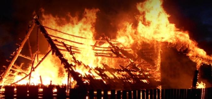 В Павлограде едва не сгорел жилой дом