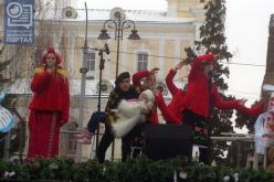 Павлоградцы отмечали Рождество в Луцке (ФОТО)