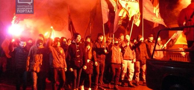 В Павлограде прошел марш «Свободу политзаключенным» (ФОТО)