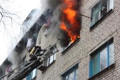 В Першотравенске ликвидировали пожар в шахтёрском общежитии