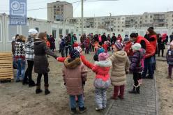 Модульный городок Павлограда отметил свой первый День рождения (ФОТО и ВИДЕО)