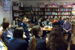 В библиотеке открылся киноклуб Docudays UA