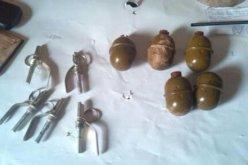У терновчанина изъяли 5 гранат с запалом (ФОТО)