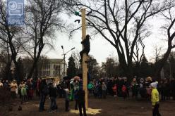 Масленица в Павлограде: соревнования богатырей, ярмарка и каша (ФОТОРЕПОРТАЖ)