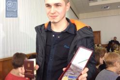 В Павлограде награды получили участники АТО. Один из них — посмертно (ВИДЕО)
