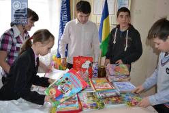 Школьники Павлоградского района отказались от подарков, чтобы порадовать детей из зоны АТО