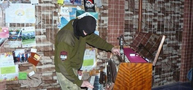 В Павлограде выступил Пианист-Экстремист Богдан