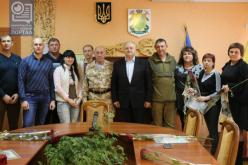 В Павлограде наградили волонтеров