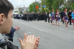 Центральной улицей Павлограда прошли ликвидаторы (ФОТО и ВИДЕО)
