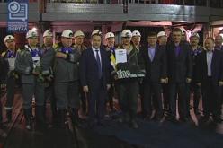 В ДТЭК ШУ Терновское — историческая дата: добыто 100 млн тонн угля!