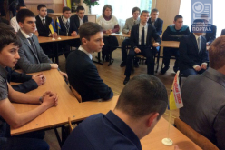 Студенты встретились с легендарными жителями Западного Донбасса