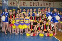 Павлоградцы стали чемпионами Украины по черлиденгу (ФОТО)