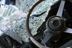 В Павлограде пьяный водитель врезался в столб