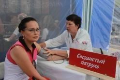 В Павлограде можно будет измерить артериальное давление в общественных местах