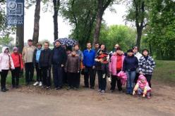 Люди с ограниченными физическими возможностями вышли на пробежку ко Дню Победы (ВИДЕО)