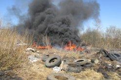 200 павлоградцев получили предписания за сжигание сухой травы и мусора