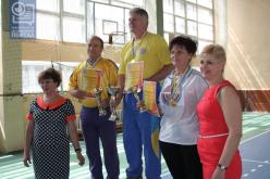 Команда Павлограда стала серебряным призером спартакиады «Сила духа»