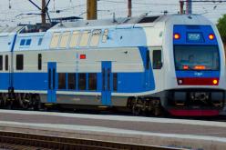 2-этажный поезд «Skoda» будет курсировать до Геническа через Павлоград