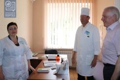 В амбулатории Павлограда сделали ремонт хирургического кабинета