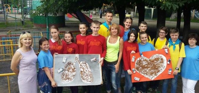 Павлоградцы присоединились к Всемирному дню без табака