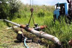 Завершен первый этап ремонта газопровода, питающего Першотравенск