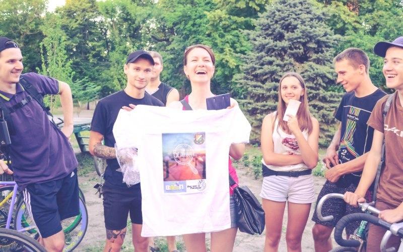 В Павлограде впервые провели  велоквест (ФОТО)