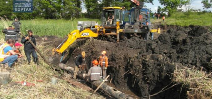 30-тысяч жителей Днепропетровщины уже неделю остаются без газа