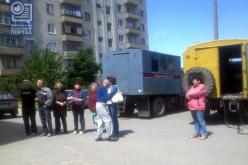 Павлоградцы протестуют против установки общедомовых счетчиков газа