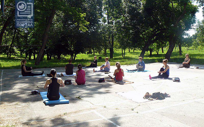 Павлоградцев приглашают на бесплатные занятия йогой