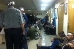 Шахтеры-инвалиды ворвались в здание Минсоцполитики и объявили голодовку