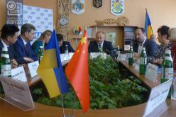 Китайской делегации в Павлограде предложили два инвестиционных проекта (ФОТО)