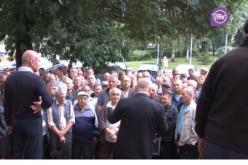 Инвалиды-регрессники митинговали под горсоветом Павлограда