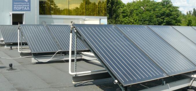 Гелиосистема на ВСК «Юность» экономит до 60% энергии