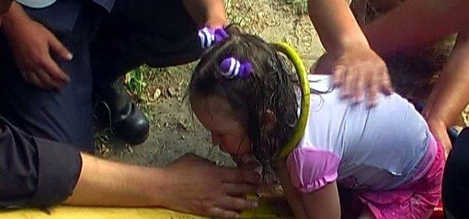 В Павлограде спасатели доставали ребенка, зажатого качелей