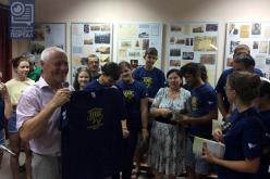 Музей и знакомство с мэром — итоги первого дня лагеря «БУР» (ВИДЕО)